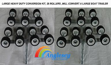 boat trailer rollers conversion kit