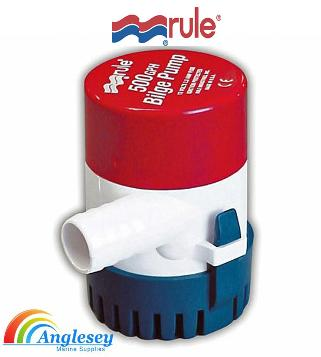 rule boat bilge pumps
