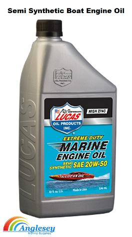 semi synthetic boat engine oil