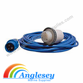Waterproof Boat To Shore Electrical Connectors 240 Volt Cable Extension Lead