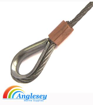 stainless steel wire rope thimble marine rigging