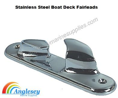 Stainless Steel Boat Deck Fairleads