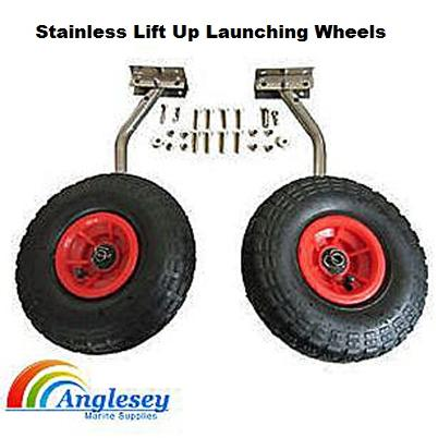 stainless steel boat launching wheels