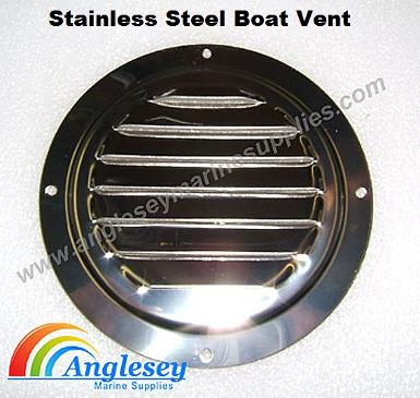 stainless steel louvre boat vent
