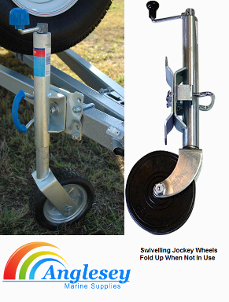 Boat Trailer Jockey Wheel Swivelling