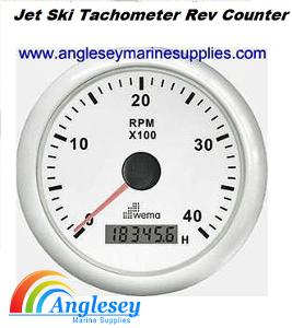 tachometer rev counter jet ski