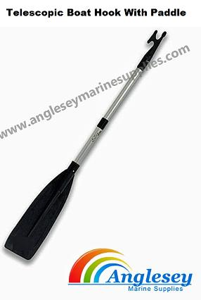 Telescopic Boat Hook pole With Paddle