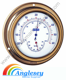 Vion Boat Thermometer & Hygrometer