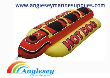 Hot Dog 3 Riders Inflatable Water-Ski Toy